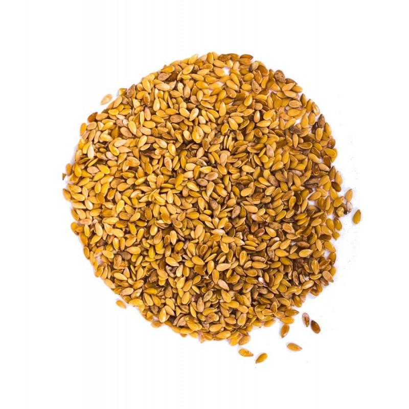 Siemię lniane złote ziarno 1kg zoom