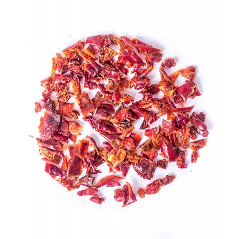 Papryka słodka czerwona w płatkach 10kg zoom