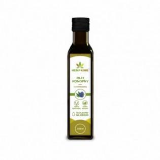 Olej konopny z czarnuszką – 250ml