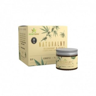Naturalny dezodorant konopny z CBD o zapachu wanilii i kwiatów Ylang Ylang