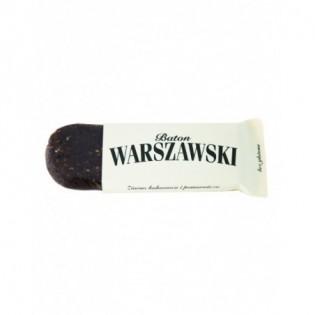 Baton Warszawski - ziarno kakaowca i pomarańcza 60g - Baton Warszawski