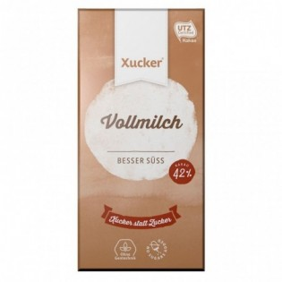 Czekolada mleczna z ksylitolem 100 g - Xucker
