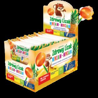 Zdrowy lizak Mniam-Mniam ananas - Starpharma