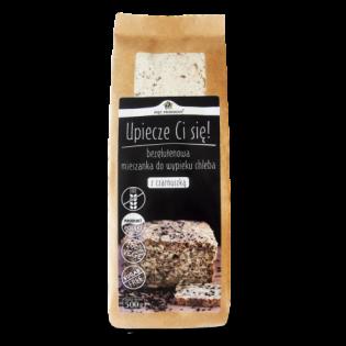 Mieszanka chleba bezglutenowego z czarnuszką 500 g - Pięć Przemian