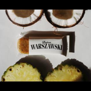 Baton Warszawski - ananas i kokos 60 g - Baton Warszawski