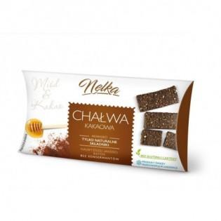 Chałwa Kakaowa Nelka (20 szt. x 50 g) - Nellfit