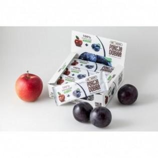 Listki owocowe Porcja dobra JABŁKOWO - ŚLIWKOWA PRZEKĄSKA 16 g - Pure Life