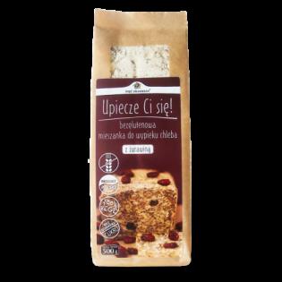 Mieszanka chleba bezglutenowego z żurawiną 500 g - Pięć Przemian