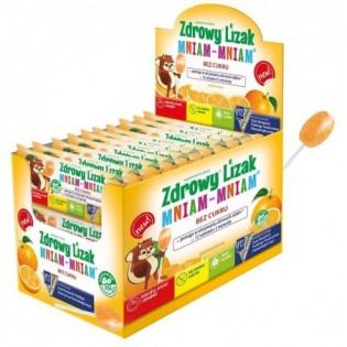 Zdrowy lizak Mniam-Mniam pomarańcza - Starpharma