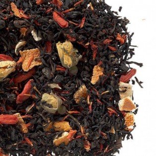 Herbaty czarna smakowa Jagoda Goji 100g