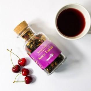 Herbaty czarna smakowa Słońce Toskanii80gw butelce