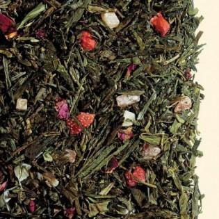 Herbaty zielona/biała smakowa Pocałunek Anioła