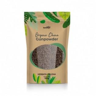 Herbaty zielona Organic China Gunpowder 100g