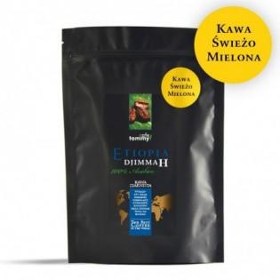 Kawa Etiopia Djimmah Gr.5 250g mielona