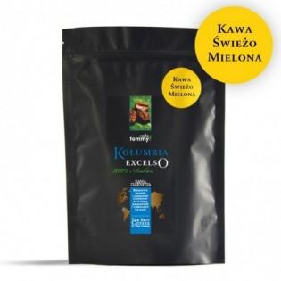 Kawa Kolumbia Excelso 250g  mielona