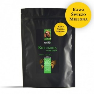Kawa Kolumbia Supremo 250g mielona!