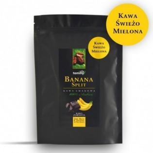 Kawa smakowa Banana Split 250g  mielona