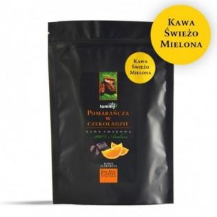 Kawa smakowa Czekolada - Pomarańcza 250g mielona