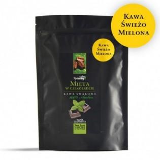 Kawa smakowa Mięta w Czekoladzie 250g mielona