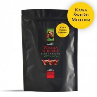 Kawa smakowa Wiśnia w Rumie 250g mielona