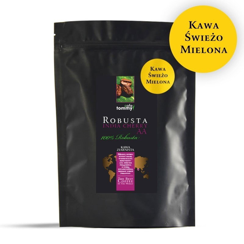 Kawa India Cherry AA Robusta 250g mielona zoom