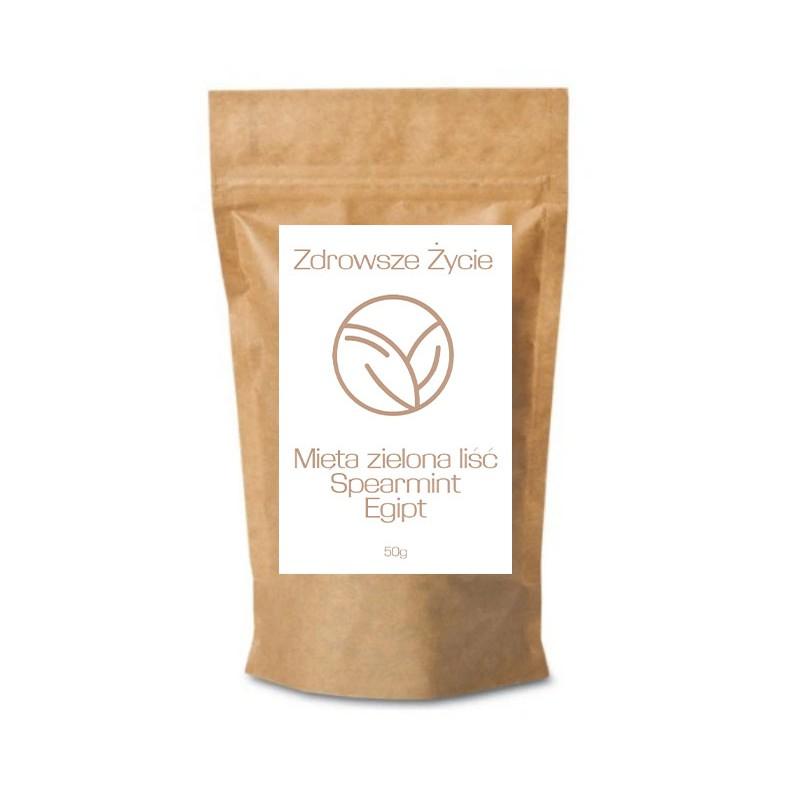 Mięta zielona liść Spearmint Egipt 50g zoom