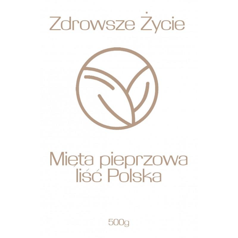 Mięta pieprzowa liść Polska 500g