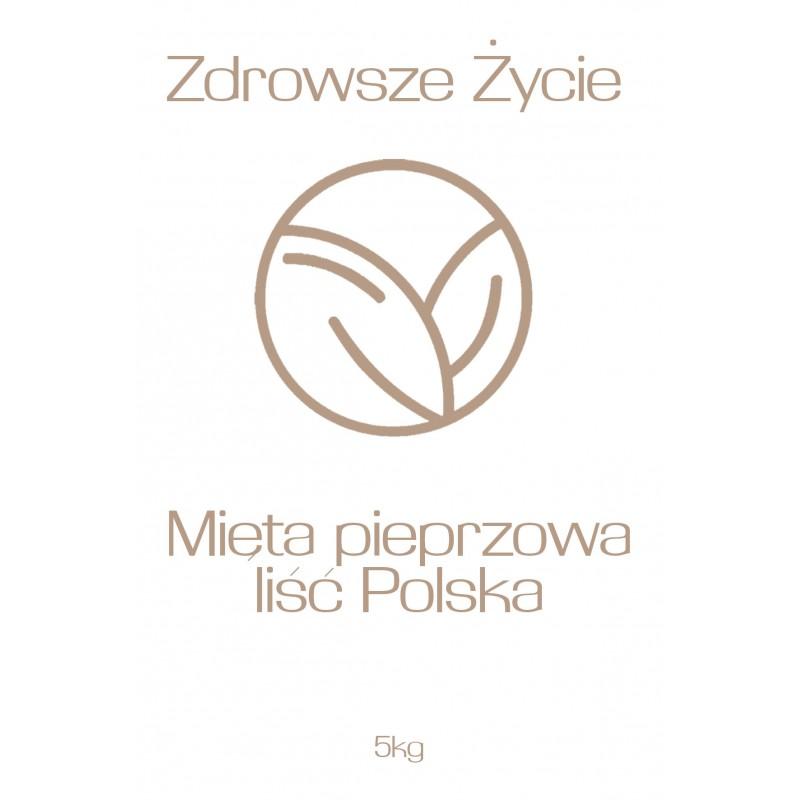 Mięta pieprzowa liść Polska 5kg