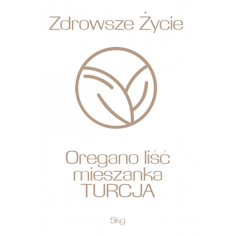 Oregano liść mieszanka TURCJA 5kg