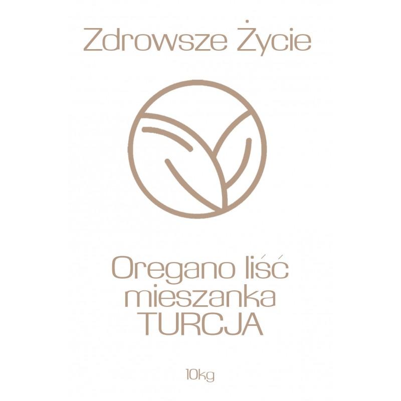 Oregano liść mieszanka TURCJA 10kg