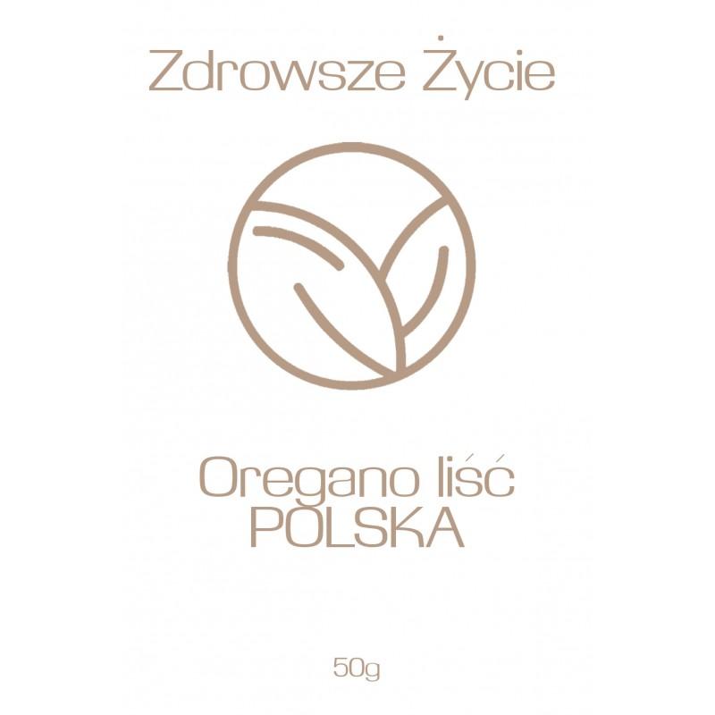Oregano liść POLSKA 50g