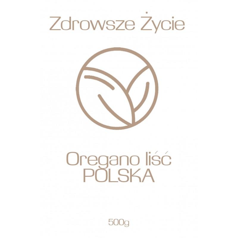 Oregano liść POLSKA 500g