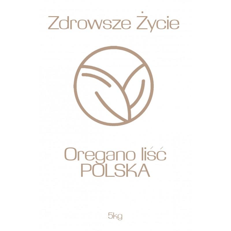 Oregano liść POLSKA 5kg