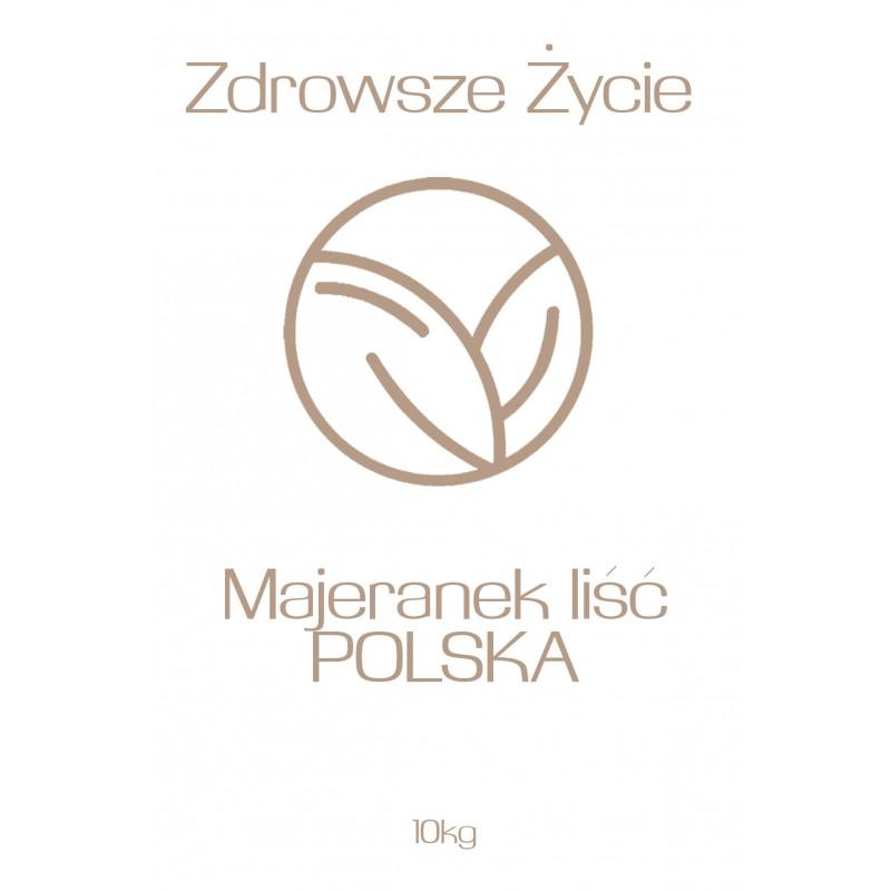 Majeranek liść Polska 10kg