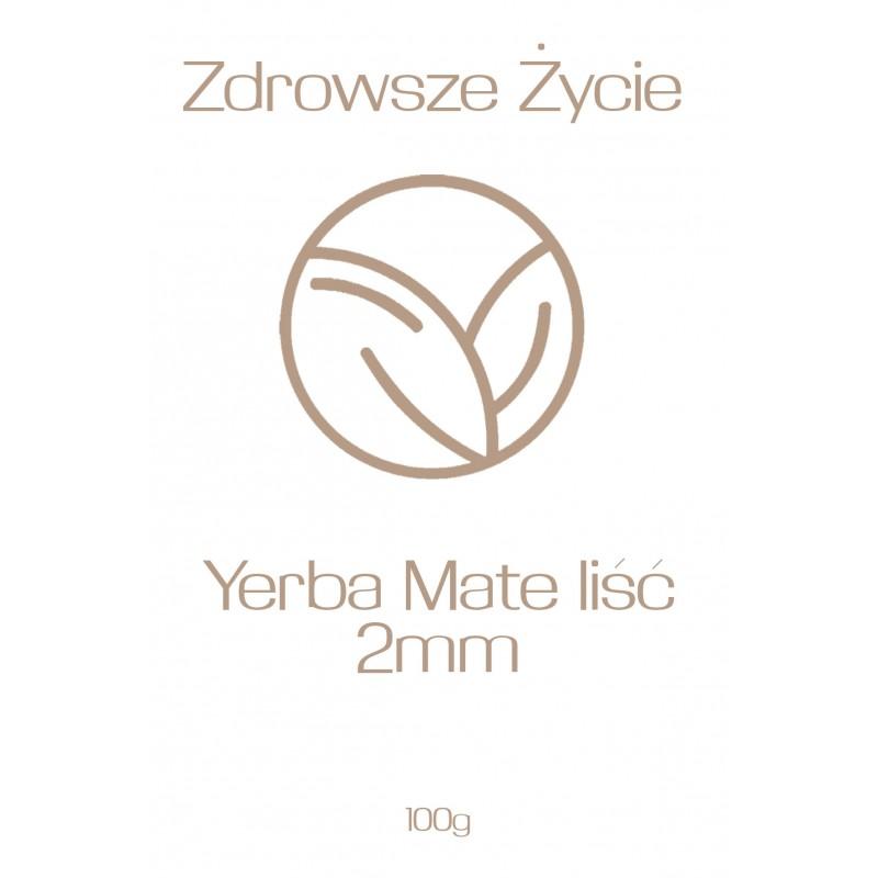 Yerba Mate liść 2mm 100g