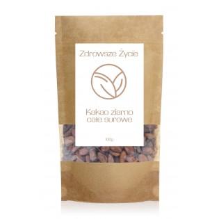 Kakao ziarno całe surowe 100g